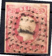 PORTUGAL - (Royaume) - 1866-67 - N° 21 - 25 R. Rose - (Louis 1er) - Gebraucht