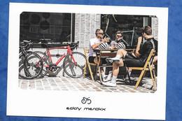 CPM Publicitaire Marque De Vélo Eddy Merckx - Lavaredo Cycliste Vélo - Advertising