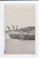 11660.  Fotografia Cartolina Vintage Gaeta Spiaggia Del Serapo 1932 - Places
