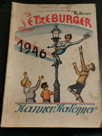 Livre, Letzeburger Kanner Kalenner 1946. Complet Dans L'état - Non Classificati