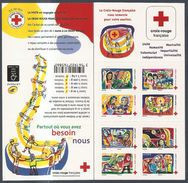 2017 Carnet Adhésif - BC 1422 Croix Rouge -Unité - Humanité - NEUF - LUXE ** NON Plié - Commemoratives