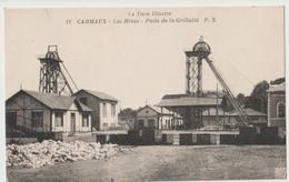 CPA Industries Minières Les Mines De Carmaux (81) Chevalets Des Puits De La Grillatié  PX 11 - Carmaux