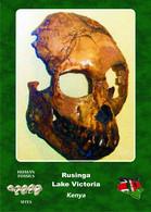 Set 4 Cartes Postales, Prehistoire, Human Fossil Sites, Rusinga (Lake Victoria)(Kenya), Proconsul Heseloni - History