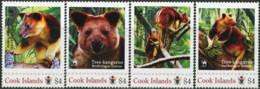 COOK ISLANDS 2012 Wildlife Tree Kangaroo Animals Fauna MNH - Other