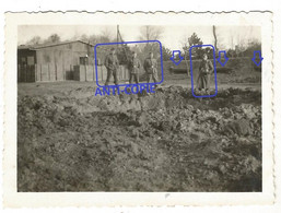 WW2 RARE PHOTO ORIGINALE Soldats Allemands à MARDYCK DUNKERQUE 59 NORD 1941 - 1939-45