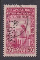 Perforé/perfin/lochung Algérie 1937 No DZ128  CIMA Cie Internationale Des Machines Agricoles - Oblitérés
