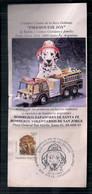 Argentina Fragment Commémoratif Des Chiens Dalmates Pour Les Pompiers 1994 - Cartas