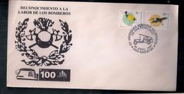 Argentina Enveloppe Commémorative 60e Anniversaire Des Pompiers Volontaires 1997 - Cartas