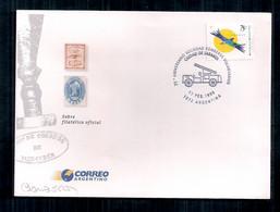 Argentina Enveloppe Philatélique Officielle 75e Anniversaire Des Pompiers Volontaires 1999 - Bombero