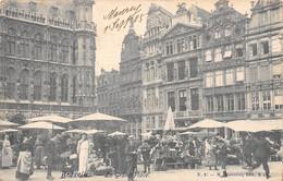 BRUXELLES - La Grand'Place. - Marktpleinen, Pleinen