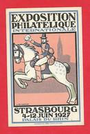 Strasbourg - Exposition Philatélique Internationale ; Juin 1927 - Philatelic Exhibitions