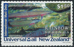 New-Zealand 2005 - Private Postal Operator ( Fish : Trout ) - Usados