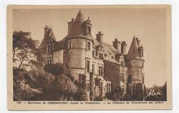(RECTO / VERSO) TOURLAVILLE EN 1947 - N° 169 - APTRES LA LIBERATION LE CHATEAU ET INTACT - BEAU CACHET - FORMAT CPA - Other Municipalities