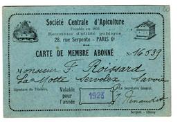 46145 - Ste D'APICULTURE - Cartoncini Da Visita