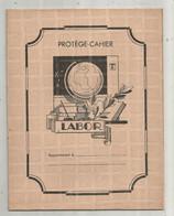 JC , Protége Cahier LABOR , Vierge , Beige, Calendrier Perpétuel , Emploi Du Temps, Tables ,2 Scans , Frais Fr 1.95 E - Book Covers