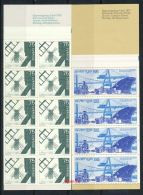 SCHWEDEN Mi.Nr. 709,711 Freimarken: Containerhafen, Windmühlen- Markenheftchen - MNH - 1904-50