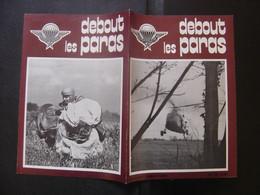DEBOUT LES PARAS 76 Annees 80's Militaria ARMY Parachutisme Soldat ARMEE Kiraz - Armes