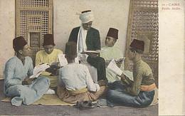 X125126 AFRIQUE EGYPTE EGYPT CAIRO LE CAIRE ECOLE ARABE PRECURSEUR AVANT 1904 - El Cairo