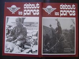DEBOUT LES PARAS 84 Annees 80's Militaria ARMY Parachutisme Soldat ARMEE Kiraz - Armes