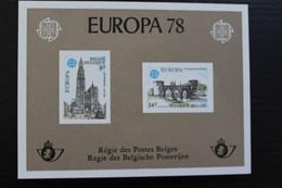 LX67 - Europa 1978 - Zeer Mooi! - Hojas De Lujo