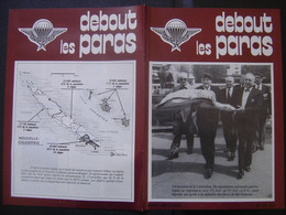 DEBOUT LES PARAS 98 Annees 80's Militaria ARMY Parachutisme Soldat ARMEE Kiraz - Armes