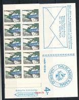 SCHWEDEN Mi.Nr. 599 Freimarken: Dalsland-Kanal- Markenheftchen - MNH - 1904-50