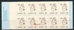 SCHWEDEN Mi.Nr. 653 100. Geburtstag Von Hjalmar Söderberg- Markenheftchen - MNH - 1904-50