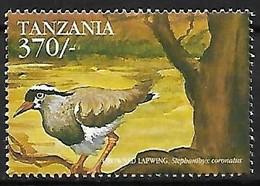 Tanzania - MNH ** 1999 :   Crowned Lapwing  -  Vanellus Coronatus - Sonstige