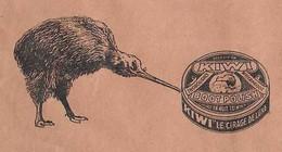 1940 Enveloppe Illustrée De Kiwi ( Oiseau & Cirage) /Ets ZECCHINI P.P.Z. / Belle Flamme Bagnolet / 93 Seine-Saint-Denis - 1900 – 1949