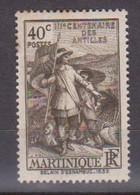 MARTINIQUE       N°  YVERT  :    155       NEUF AVEC  CHARNIERES      ( CH  1/13 ) - Ongebruikt