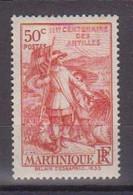 MARTINIQUE       N°  YVERT  :    156      NEUF AVEC  CHARNIERES      ( CH  1/13 ) - Ongebruikt