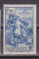 MARTINIQUE       N°  YVERT  :    157     NEUF AVEC  CHARNIERES      ( CH  1/13 ) - Ongebruikt