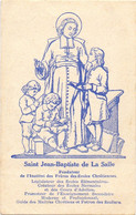 Devotie Devotion - Saint Jean Baptiste De La Salle - Prière à Dieu - Lille - Andachtsbilder