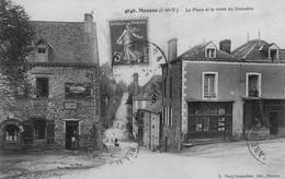 MESSAC - La Place Et La Route Du Domaine - Sonstige Gemeinden