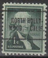 Locals USA Precancel Vorausentwertung Preo, Locals California, North Hollywood 705 - Precancels