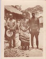 Photo Congo Belge 1911 Elisabethville Parents Avec Leur Fils Faisant Parti Des Forces Publique  Réf 4529 - Africa