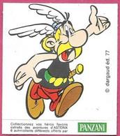 Autocollant Astérix Panzani 1977 - Aufkleber