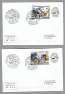 TIR2 - TAAF 933 Et 934 La Philatélie Des TAAF Sur 2 Plis CROZET 29.10.2020 - Premier Jour FDC Grand Cachet Illustré. - Covers & Documents