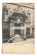 Genova, Genoa - Porta Dell'Universita - Early Italy Postcard - Genova (Genoa)