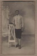 CPA PHOTO MILITAIRE GUERRE 14-18 Septembre 1917 POILU Couleur Noire SOLDAT NOIR En CP Photographique Photographe LYON - Weltkrieg 1914-18