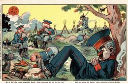 CPA - WW1 WWI Propaganda Propagande - E. MULLER - Umoristica Satirica, Humour Satirique - NV - PV104 - Oorlog 1914-18