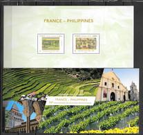 2017 - 135 - France - Philippines - Souvenir Blokken
