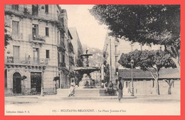 MUSTAPHA BELCOURT - Sidi M'Hamed - CPA 1926 - La Place Jeanne D' Arc - Ed. Collection Idéale P. S. N°167 (¬‿¬) ♥ - Otras Ciudades