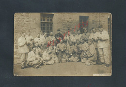 MILITARIA CARTE PHOTO EN FRANCHISE MILITAIRE SOLDATS DU 154e Inf SOLDAT PICOT LOUIS 1916 DE SAINT BRIEUC CÔTES DU NORD - 1. Weltkrieg 1914-1918