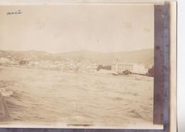 Photo De Particulier 1911 Archipel De Madère Funchal Vue Générale Pise D'un Bateau Réf 4534 - Luoghi