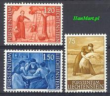 Liechtenstein 1960 Mi 395-397 Postfris  - Landbouw
