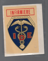 Autocollant (neuf)  INFIRMIERE (PPP28416) - Adesivi