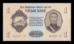 Mongolia 1 Tugrik 1955 Pick 28 SC UNC - Mongolia
