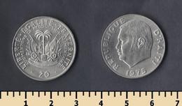 Haiti 20 Centimes 1975 - Haiti