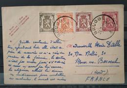 BELGIQUE - Carte Postale De BRUGES Du 24.07.1916 - 1915-1920 Albert I